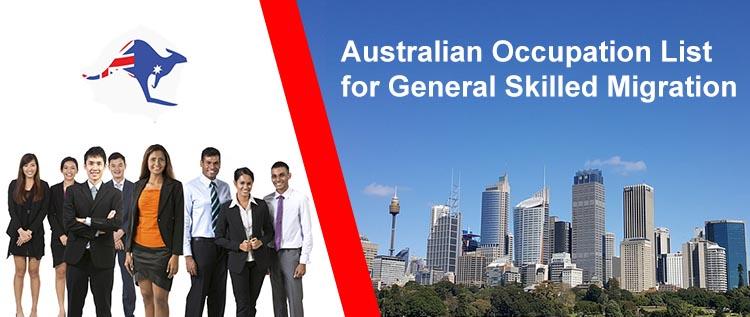 Australian Occupation List for Skilled Migration