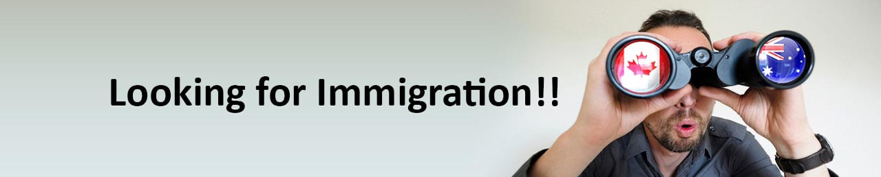Looking for immigration