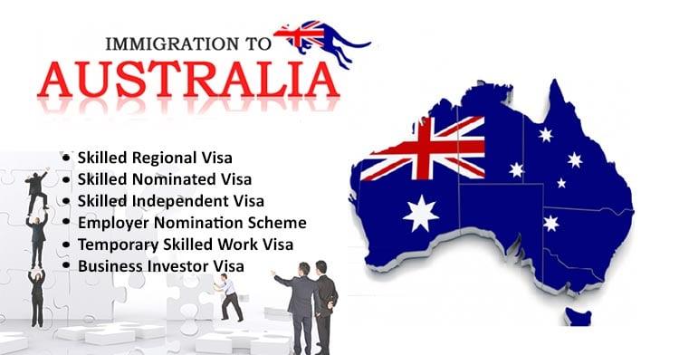 Australia Skilled Immigration Visas