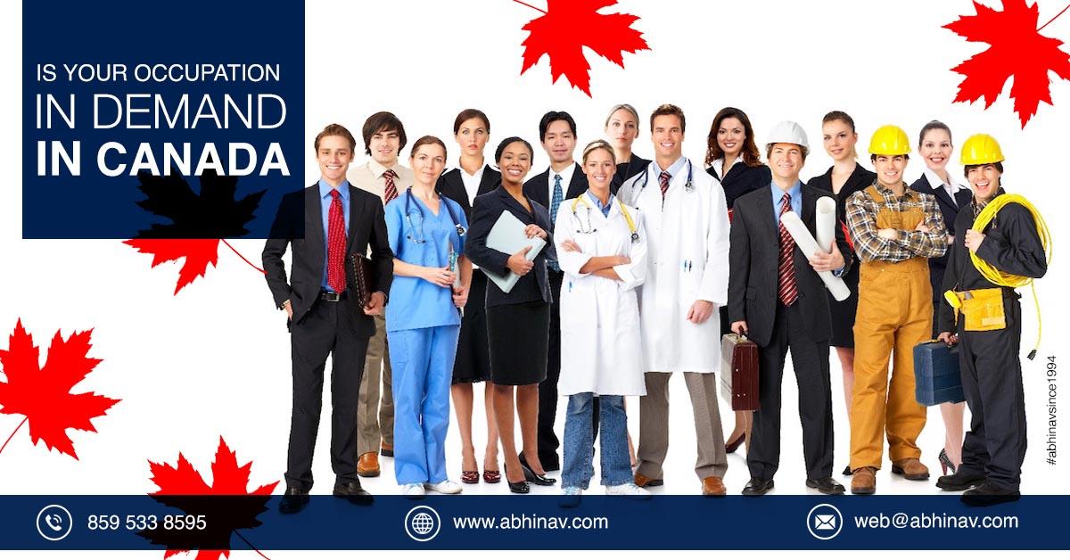 Canada NOC   Skilled Occupation List   Canada Occupation List