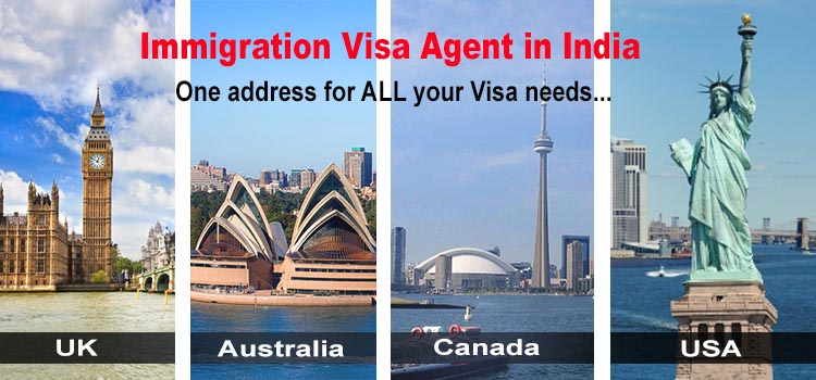 Canada, Australia, USA Immigration Visa Agent in India