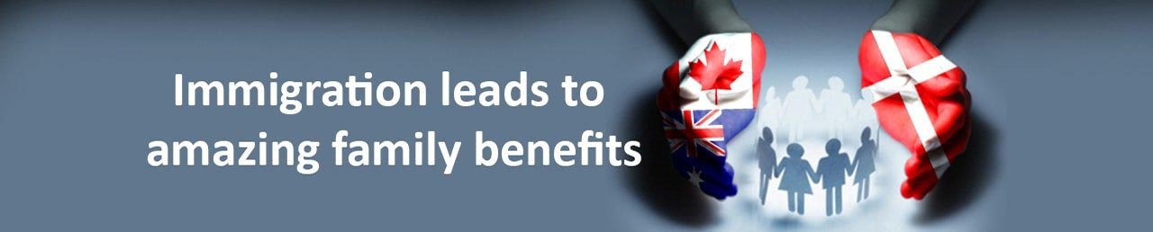 Immigration leads to amazing family benefits